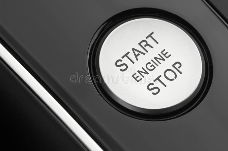 Macro photograph of a car's engine ignition stock images