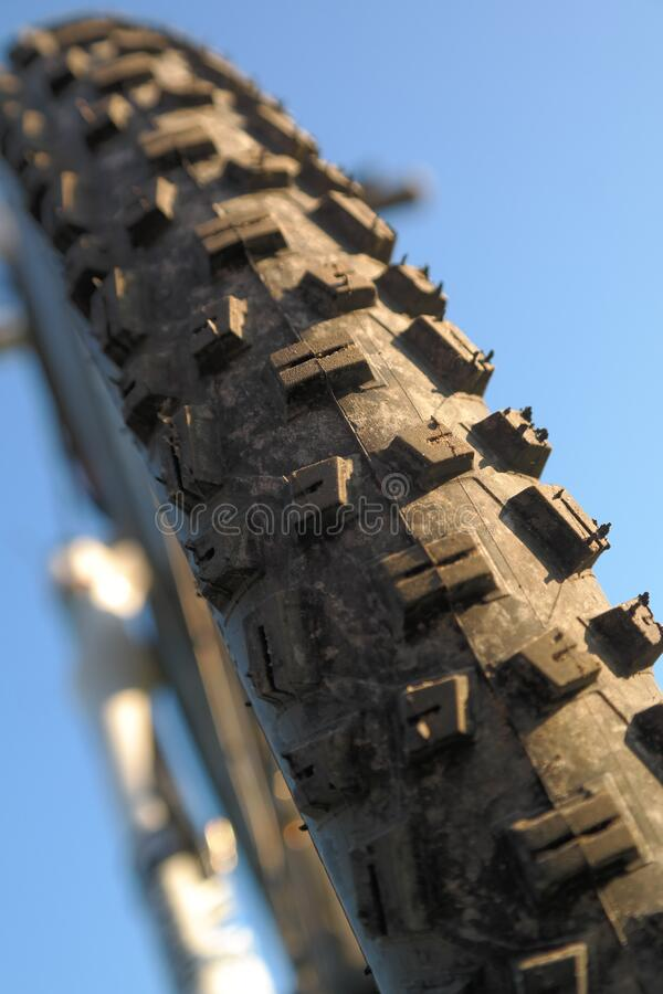 Macro Photography Of Bicycle Tire Free Public Domain Cc0 Image