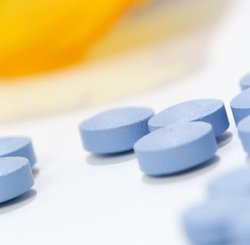 Macro pilules photo libre de droits