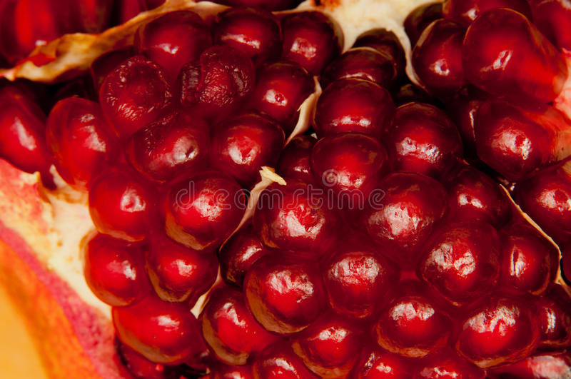 Download Macro pomegranate granules stock photo. Image of fresh - 39504082