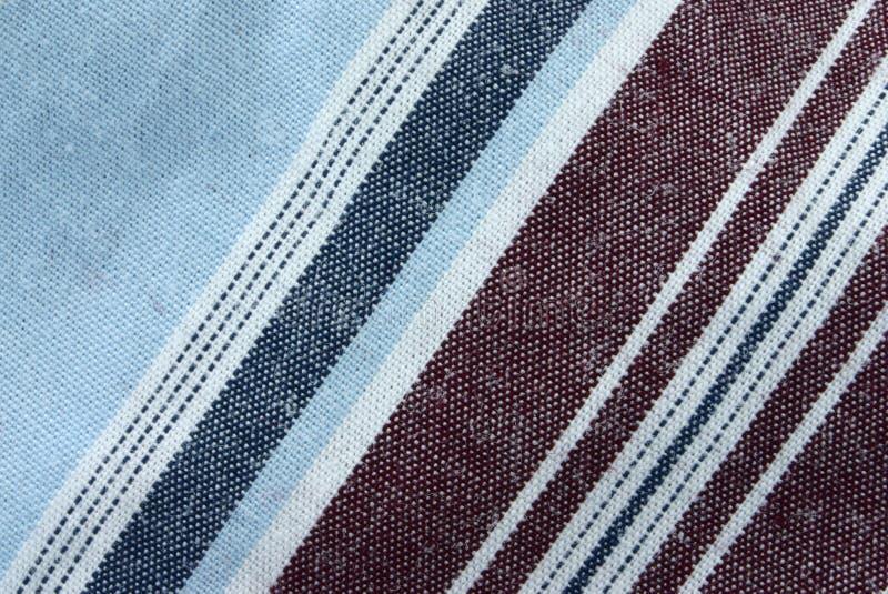 Macro real da tela de algodão imagens de stock
