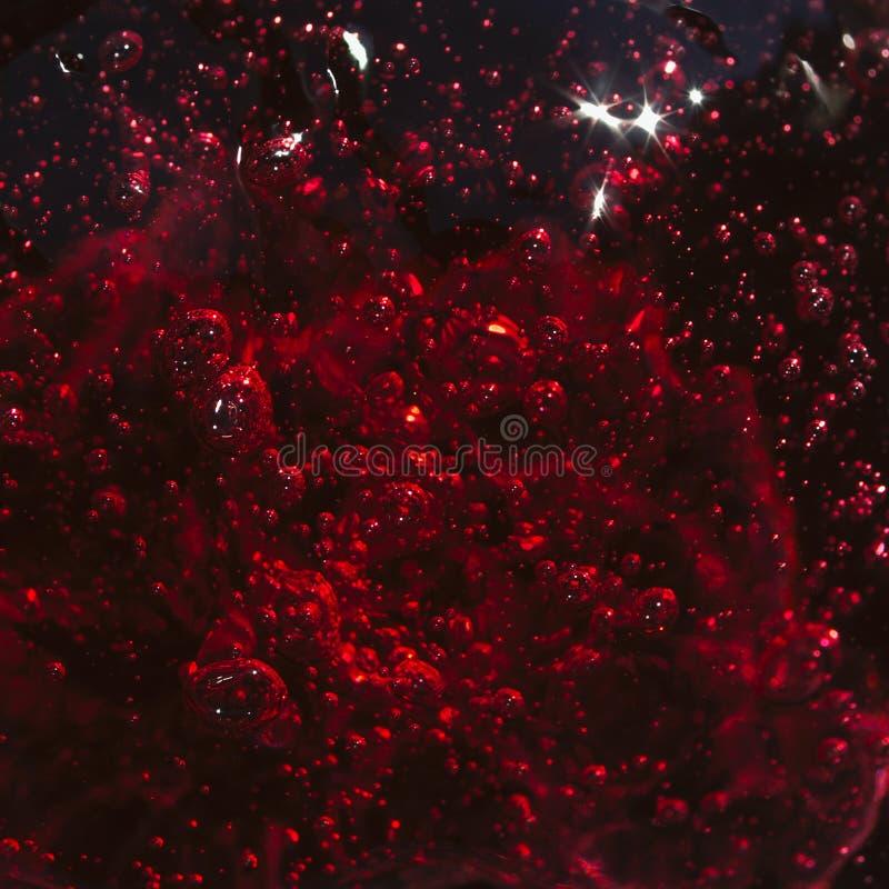 Macro red jelly royalty free stock photos