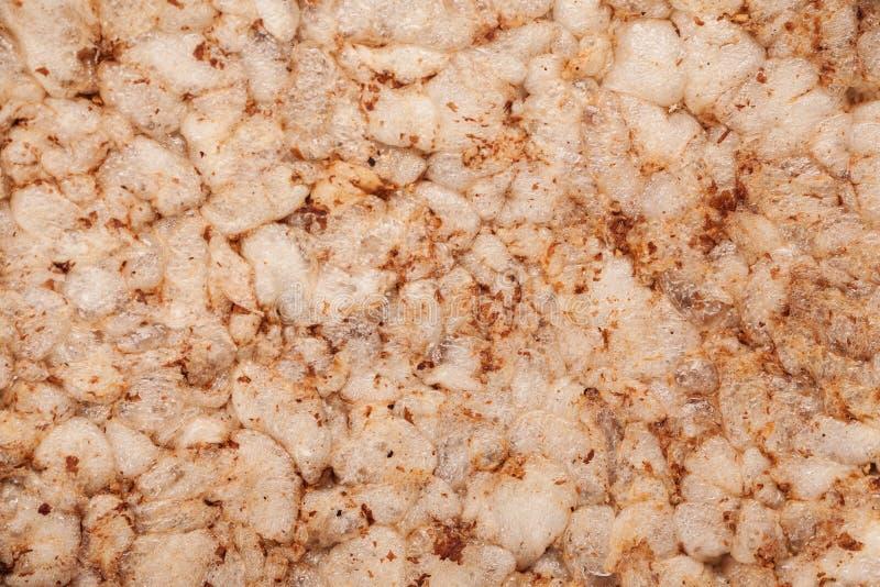 Macro shot of crisp bread, abstract texture royalty free stock photos