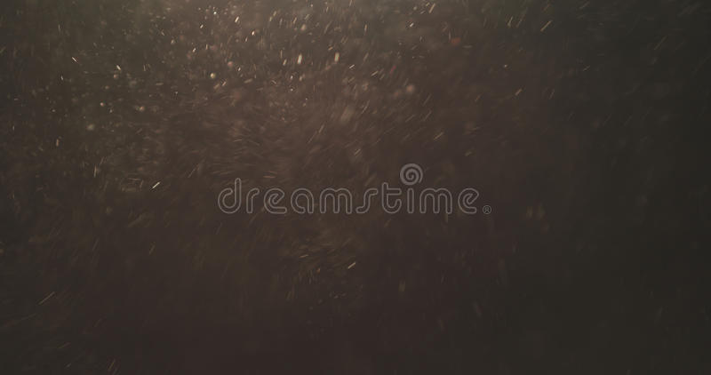 Macro shot of sand dust explosive flow for overlay. Wide photo royalty free stock photo