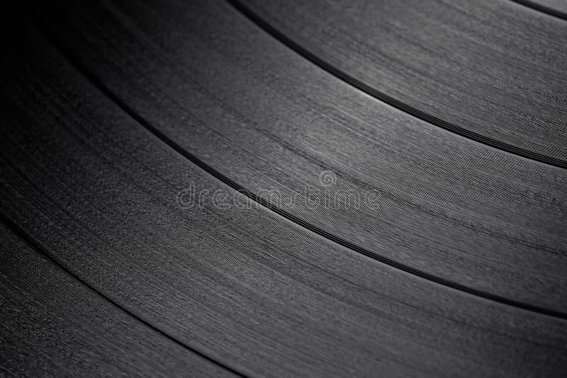 Macro shot of vinyl record. The macro shot of vinyl record stock photography