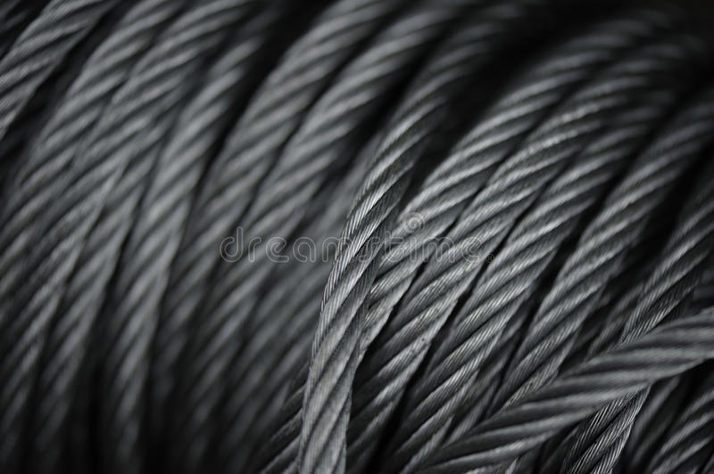 Download Macro Steel Cables Stock Images - Image: 15874214