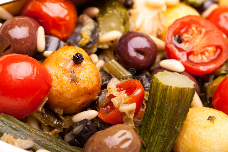 Download Macro of Stewed Vegetables stock image. Image of gastronomy - 29052695