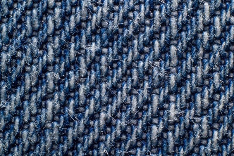 Macro texture de denim photos libres de droits