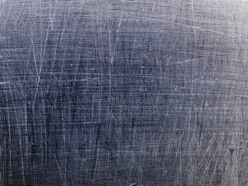 Macro texture - metal - scratched stock photo