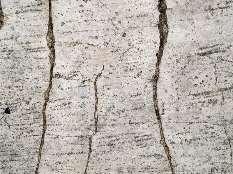 Macro textuur - gebarsten beton - royalty-vrije stock foto's