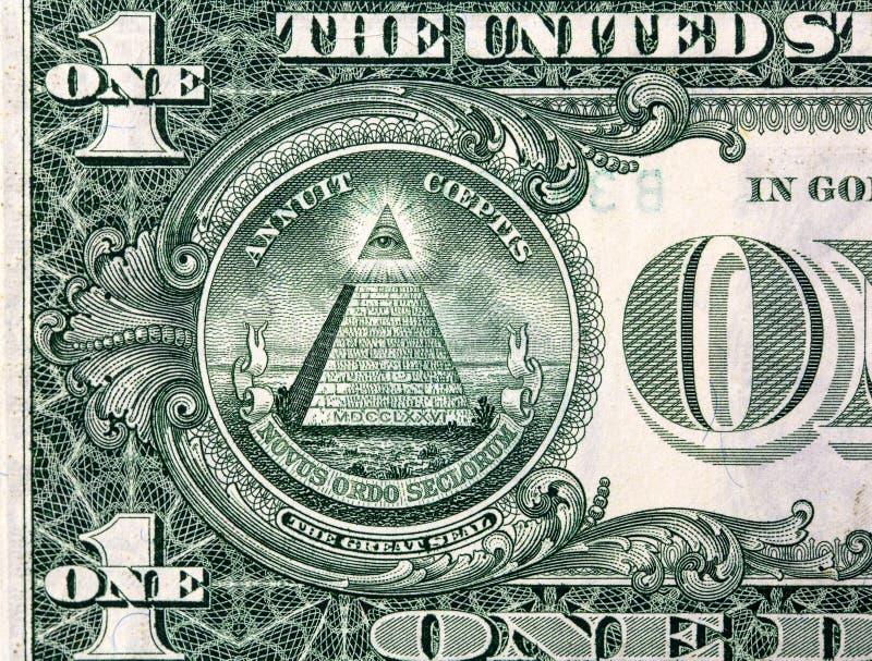 Macro tir de dollar ! ! ! ! illustration libre de droits