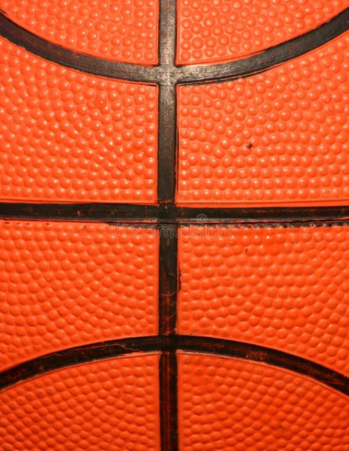 Macro Van Basketbal Stock Afbeelding