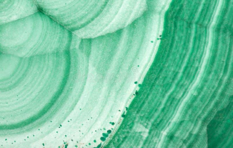 Macro van de lichtgroene textuur van de malachietgolf stock afbeelding