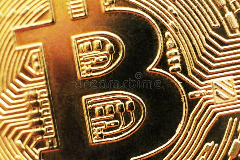 Macro vue des pièces de monnaie brillantes photo libre de droits