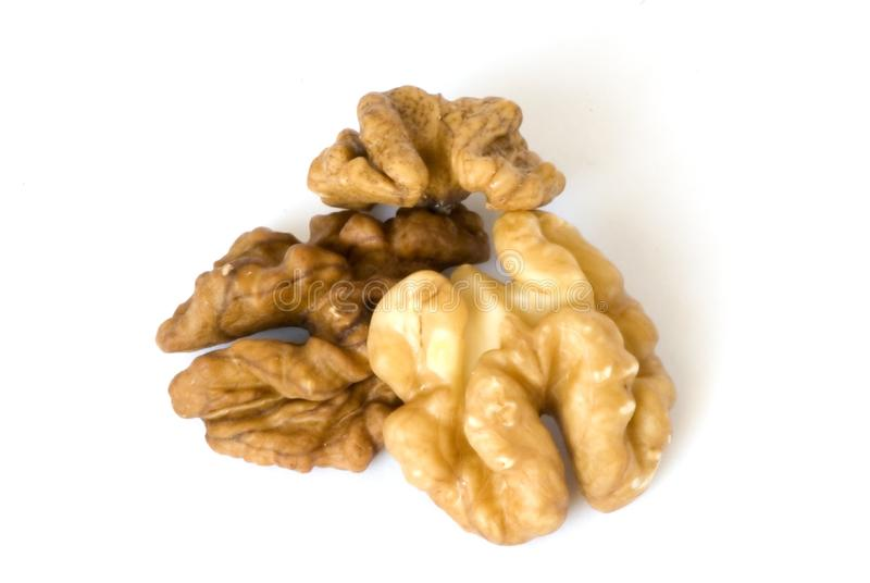 Download Macro walnuts stock photo. Image of dried, brown, close - 8308636