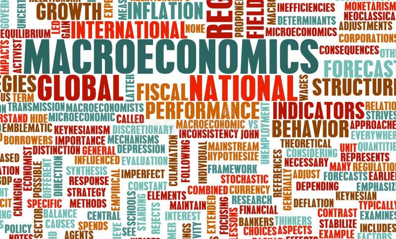 macroeconomics иллюстрация штока