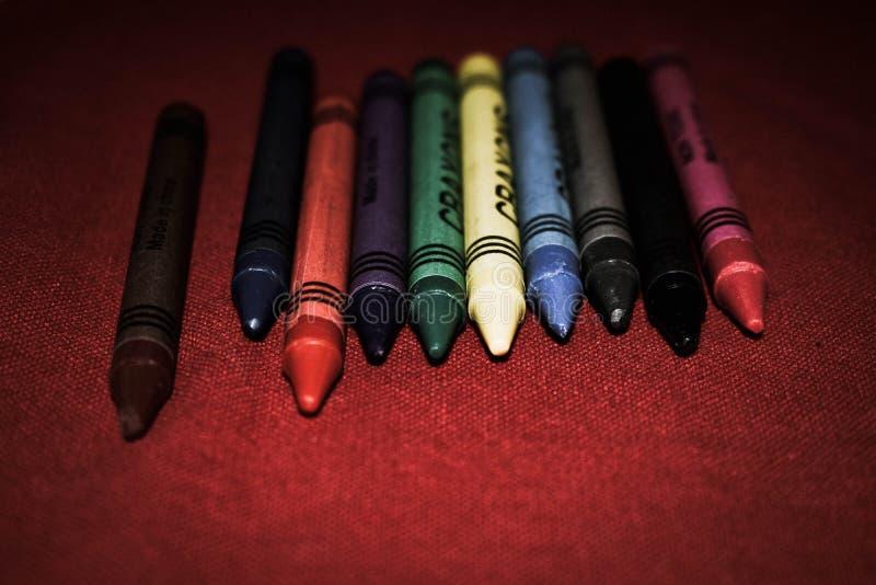 Macrofoto van Kleurrijke Pastelkleuren royalty-vrije stock fotografie
