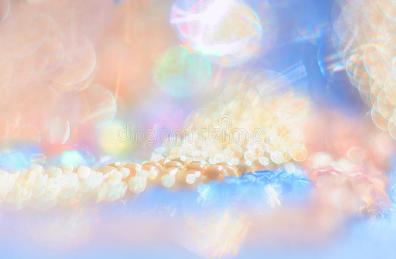 Bead with gentle abstract bokeh background. Macrophotography bead with gentle abstract bokeh background stock photos