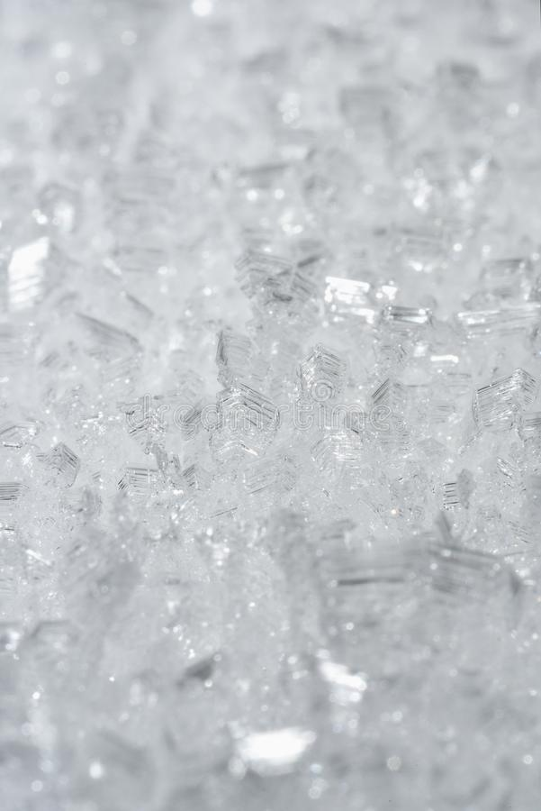 Crystals of ice royalty free stock photos