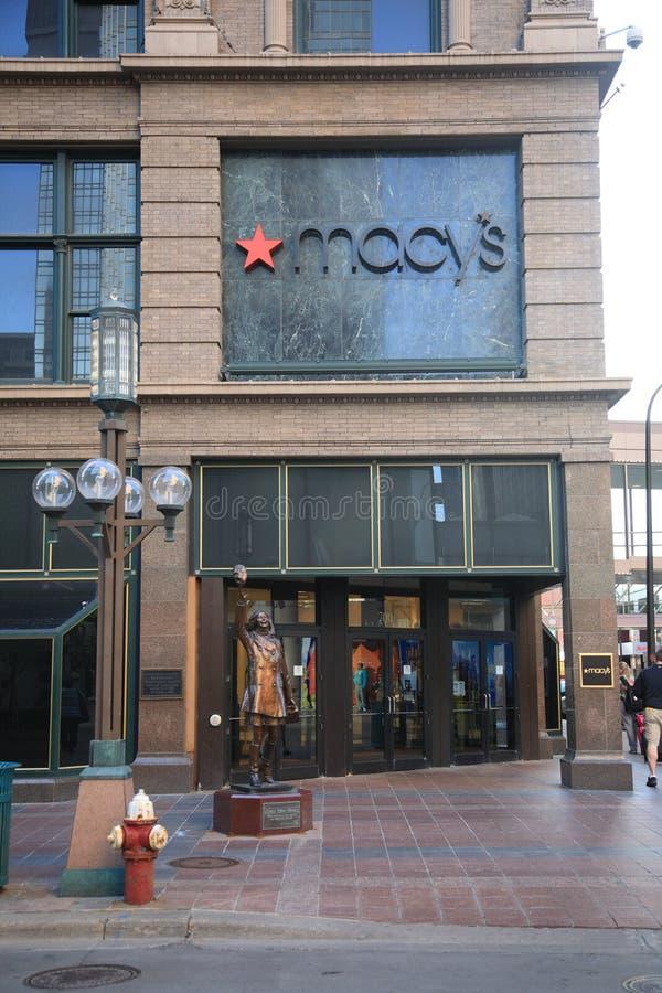 Macy的百货商店 库存照片