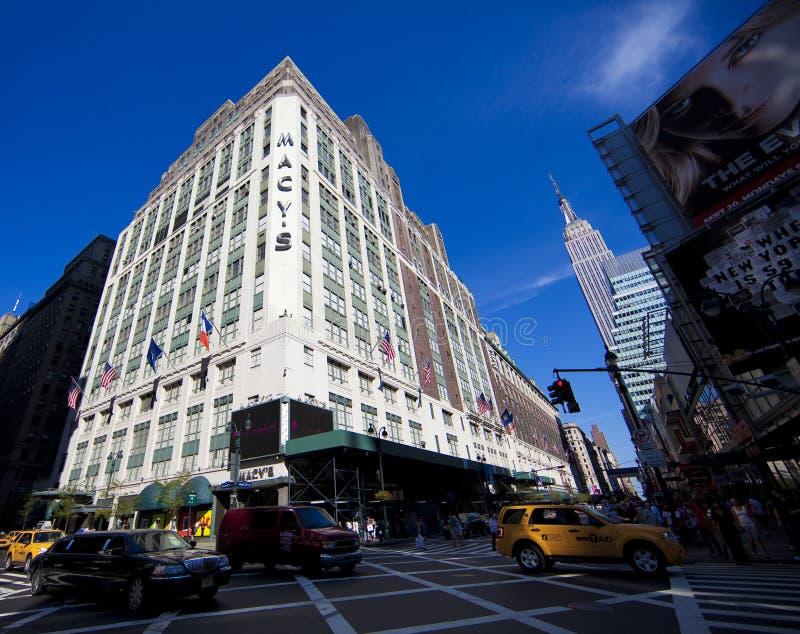 Macy em New York City fotos de stock