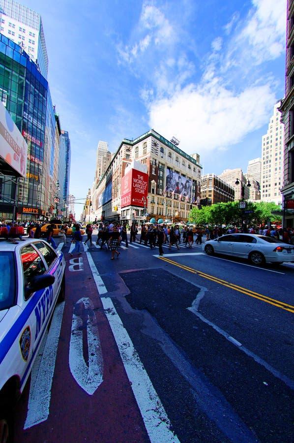 Macy, New York stock afbeeldingen