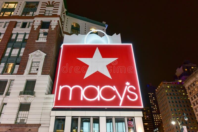 Macy ` s - πόλη της Νέας Υόρκης στοκ εικόνες