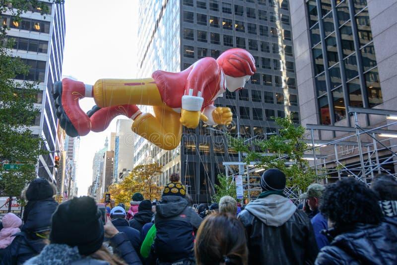 Macy ` s dziękczynienia dnia parada w Miasto Nowy Jork zdjęcia royalty free