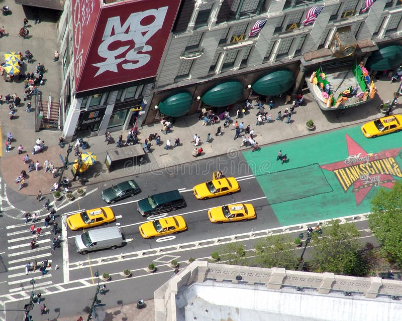 Macys from above royalty free stock image