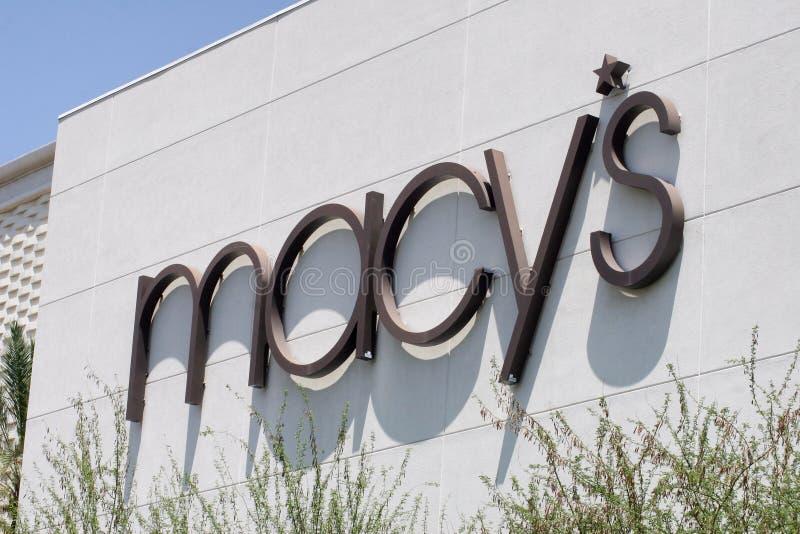 Macys-Einzelhandels-Bekleidungsgeschäft lizenzfreie stockfotografie