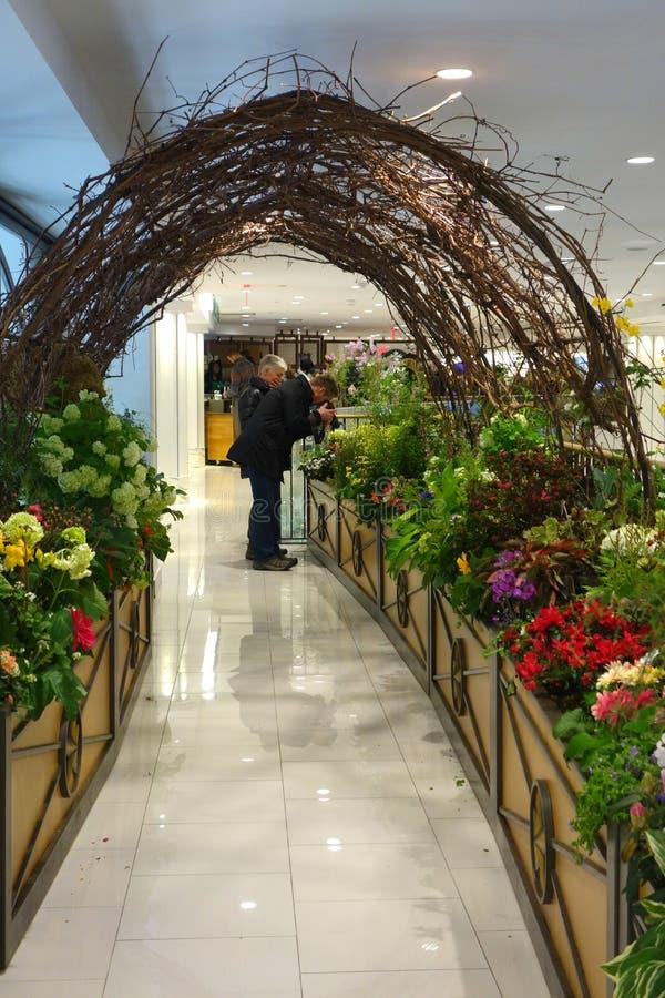 Macys Flower Show stock photo