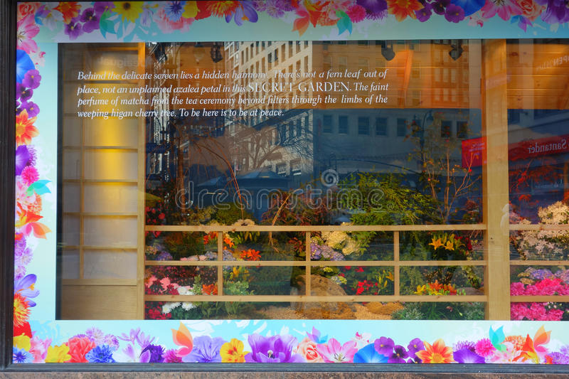 Macys Flower Show stock photography