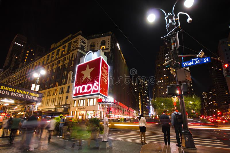 Macys Herald Square NYC stockbild