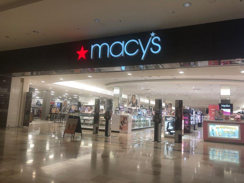 Macys-Kaufhaus lizenzfreie stockfotografie
