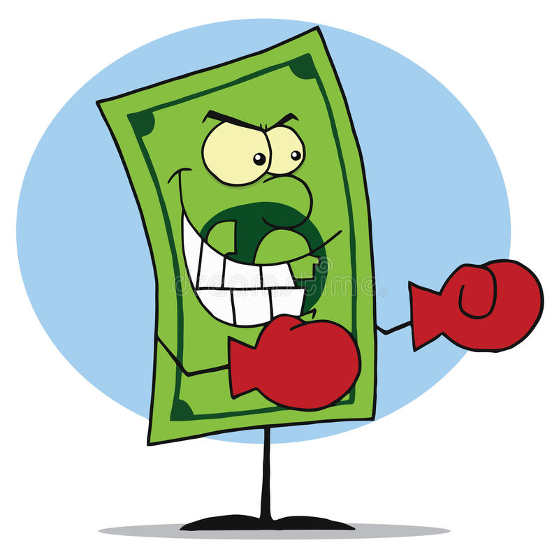 Download Mad dollar bill stock vector. Illustration of bank, discount - 15309858