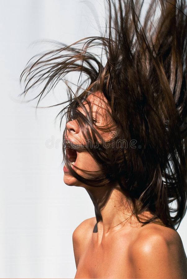 Free Mad Hair Woman Stock Photography - 6578452
