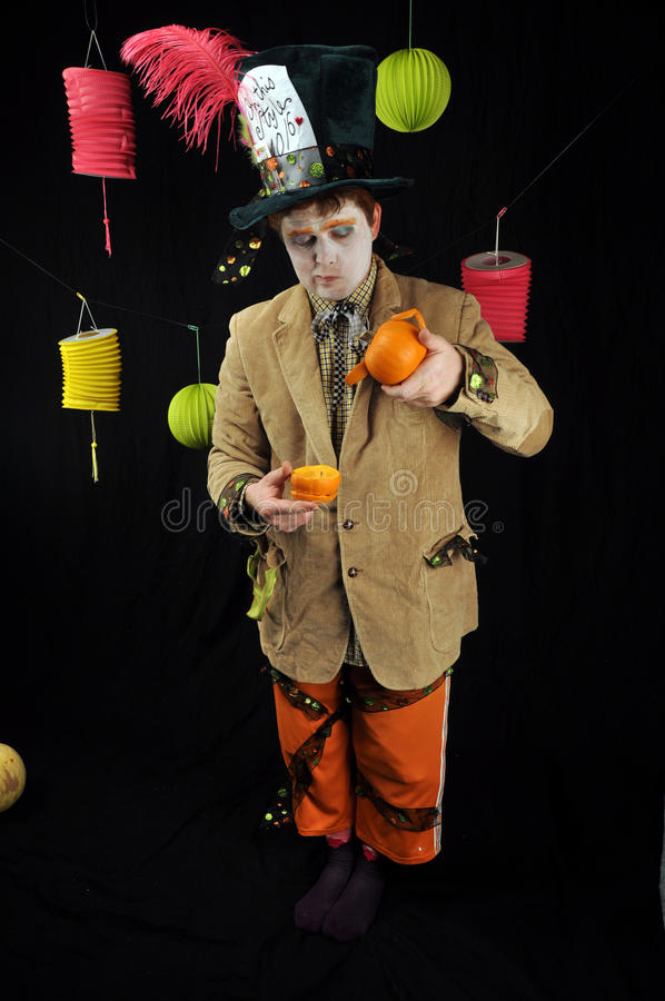 Mad Hatter Tea Party royalty free stock photo