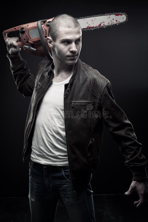 Download Mad man stock photo. Image of felon, illegal, horror - 25019084
