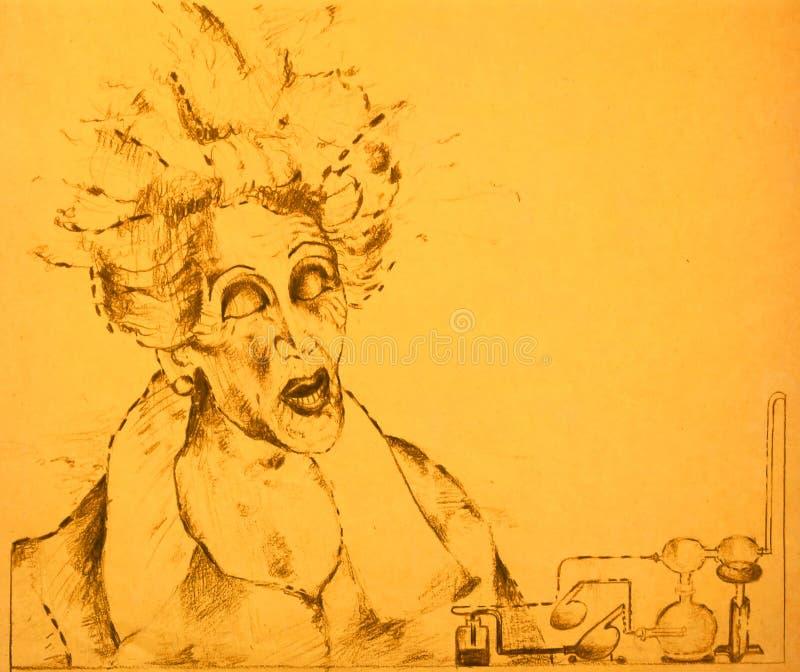 Download Mad scientist stock illustration. Illustration of scientist - 16492