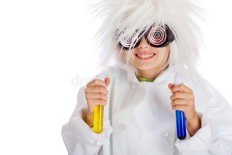 Download Mad Scientist Royalty Free Stock Photography - Image: 20932937