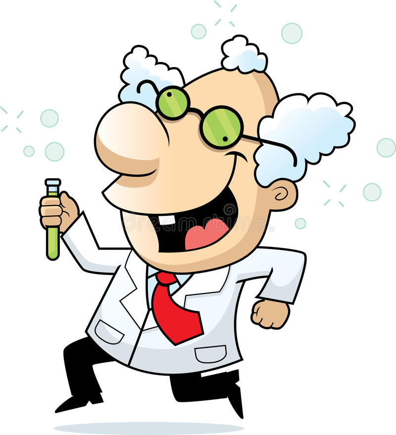 Free Mad Scientist Royalty Free Stock Photos - 9501558