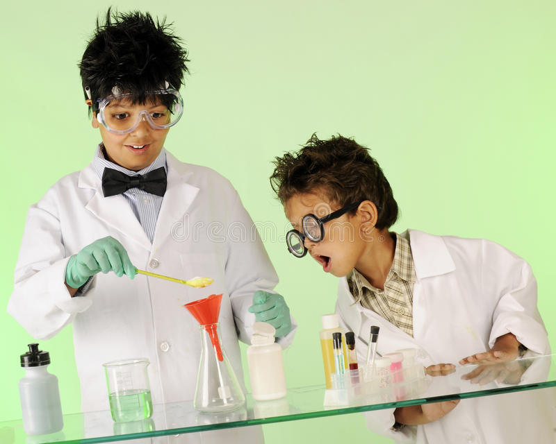 Mad Scientist Expectations Royalty Free Stock Image