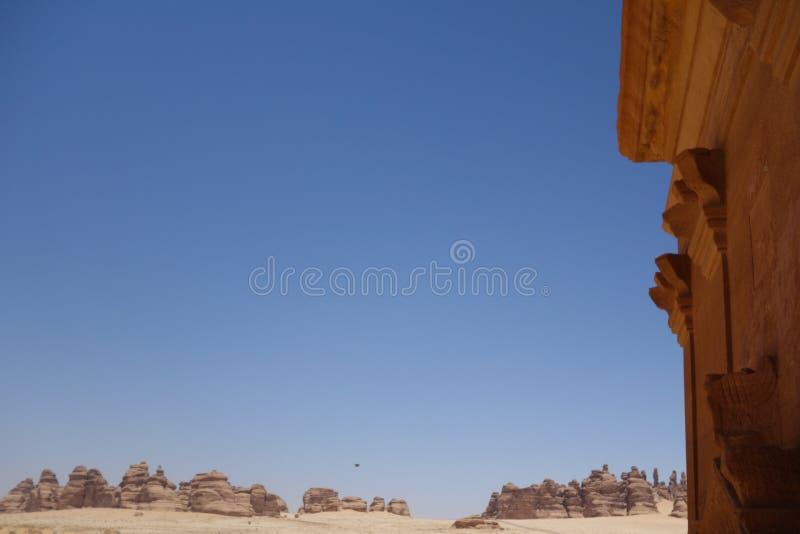 Mada'in Saleh (1) стоковая фотография