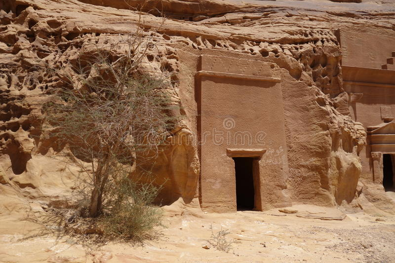Mada'in Saleh (3) fotografia de stock royalty free