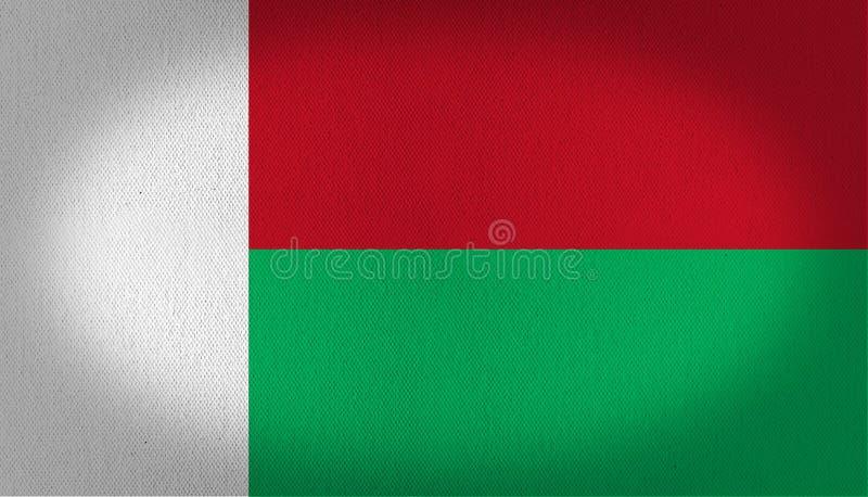 Madagascar Flag Stock Illustration Image Of Vertical - Madagascar flag