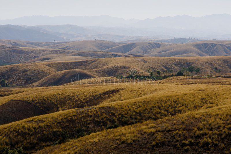 Madagascar landscape royalty free stock images