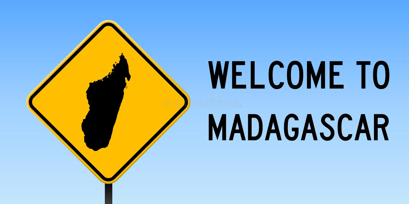 Madagascar map on road sign stock vector illustration of notice download madagascar map on road sign stock vector illustration of notice border publicscrutiny Choice Image
