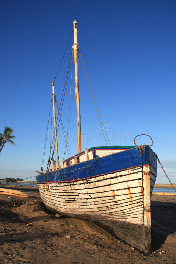 Madagascar Ship stock photography