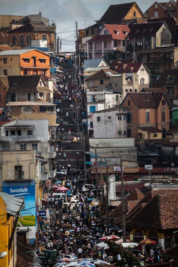 madagascar Ville d'Antananarivo photos stock