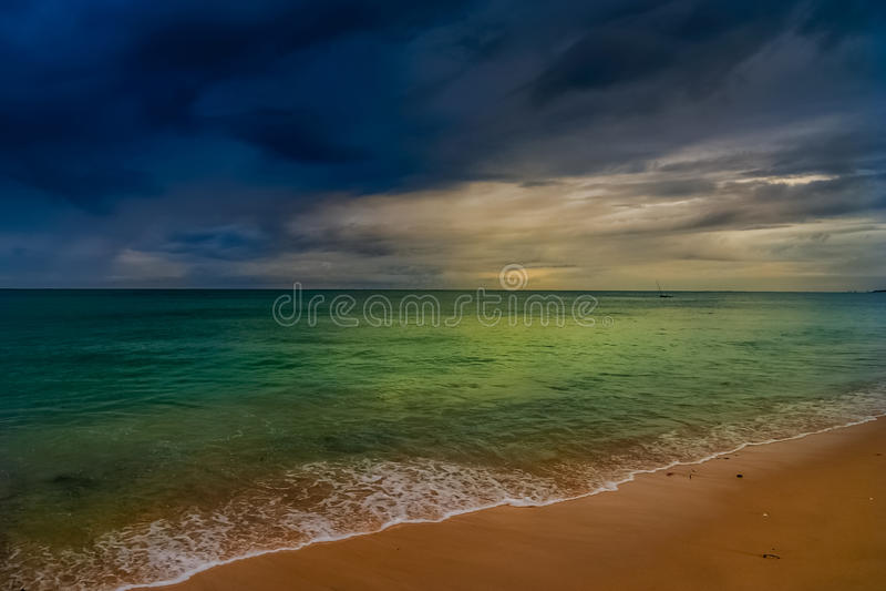 Madagaskar-Küste stockfotos